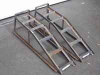 PAIR OF USED CAR RAMPS £7