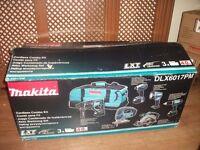 MAKITA DLX6017PM 18V 4.0AH LI-ION 6 PIECE CORDLESS POWER TOOL KIT