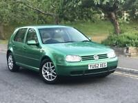 **RARE EXAMPLE+VERY LOW MILES 4 PD ENGINE+VOLKSWAGEN GOLF GT TDI PD 130 1.9 DIESEL (03 YEAR)**