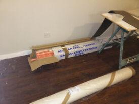 box of 95 carpet gripper rods