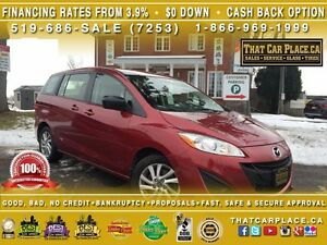 2015 Mazda MAZDA5 GS-$58/Wk-6 SEATS-AUX/CD/MP3-BLUETOOTH-Cruise-