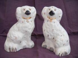 pair of Beswick dogs.