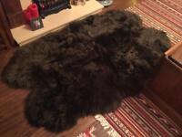 Sheep skin rug rrp £200