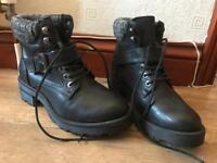 Newlook black boots