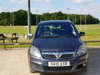 VAUXHALL ZAFIRA DIESEL AUTOMATIC 2010 5DOOR 7 SEATER 1 OWNER MOT TILL18/3/2019 HPI CLEAR