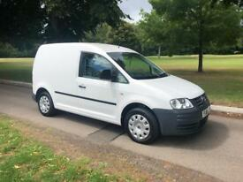 2010 Volkswagen caddy 1.9tdi 110k FSH leisure battery ply lined & carpeted NO VAT