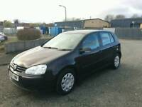 2007 Volkswagen Golf 2.0 Diesel Low Miles Full Service History + Not Audi A4 A3