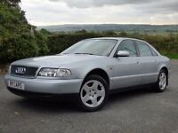 Mint 1999 Audi A8 2.8 auto only 98k fsh one owner from new!trade in considered,credit cards accepted