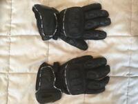 Viper Biker Gloves, Black.