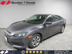 2016 Honda Civic LX| Power Group, Backup Cam, Bluetooth!