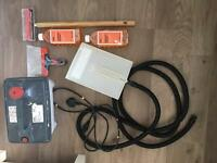 Wallpaper Steamer Stripper Bundle - Perforator, Solution and Scraper