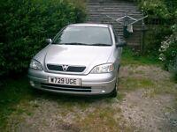 vauxhall astra 1.6 petrol w reg 10 months mot good clean tidy car great runner