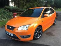 FORD FOCUS 2.5 ST 3 ORANGE 2006 RECARO SEATS FULLY LOADED NOT ST 2 RS TURBO ST3