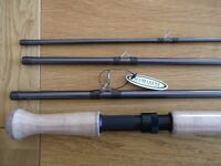 "Vision ""ATOM"" 15 foot salmon fly fishing rod. (brand new)."