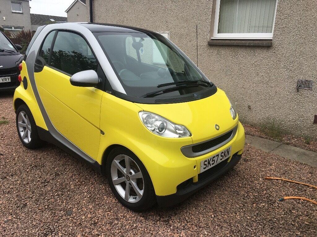 Yellow Smart Car
