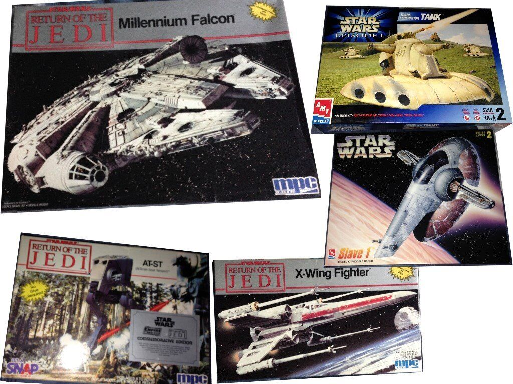 amt ertl Star Wars model kits | in Stoke-on-Trent, Staffordshire | Gumtree