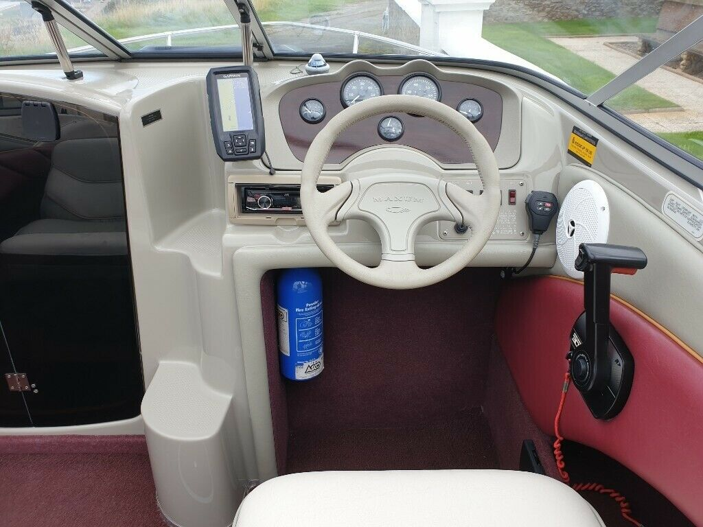 Maxum 1700 XC 120hp Cuddy Cabin Speed boat  not Bayliner , Searay , Regal ,  Fletcher | in Buckie, Moray | Gumtree