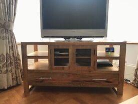 Dakota Light Mango TV Stand/Unit/Cabinet