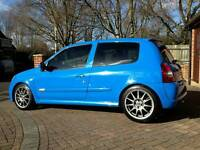 Clio 182 racing blue modified great spec