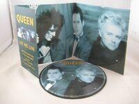 "Queen---""Let Me Live""---Limited Edition 7"" Vinyl Picture Disc"