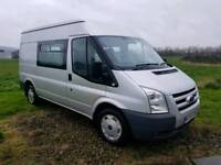 Ford Transit Campervan with Awning and Bikerack