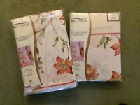 King size Duvet Covers and Matching Curtains (New and Unopened)