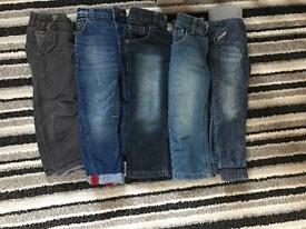 Boys trousers and shorts bundle 2-3