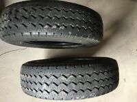 PART WORN TYRES form 10 pounds