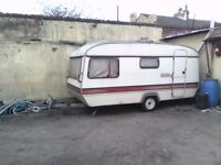 Eccle amethyst. Spares repair. Ideal for camper van conversion. Fridge. Stove. Fire. Clean inside