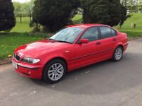 2003 BMW 316i # FULL YEARS M.O.T TO MAY 2019 # 4 DOOR SALOON # SUPERB DRIVING CAR #
