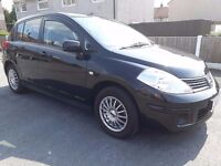 NISSAN NOTE TILDA 2009 1.6 PETROL VERY LOW MILES IMMACULATE