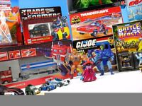WANTED - 80s 90s He Man, Thundercats, Transformers, Turtles, Pokemon, Ghostbusters figures and more