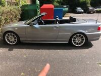 BMW 330ci convertible face lift M sport