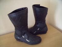 Frank Thomas Aqua Force ladies motorcycle boots