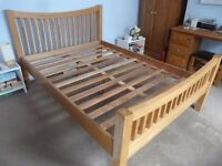 Wooden Double Bed Frame - Horfield, Bristol
