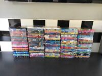 Kids dvds 120 6 seasons of the Simpsons and 2 wii games