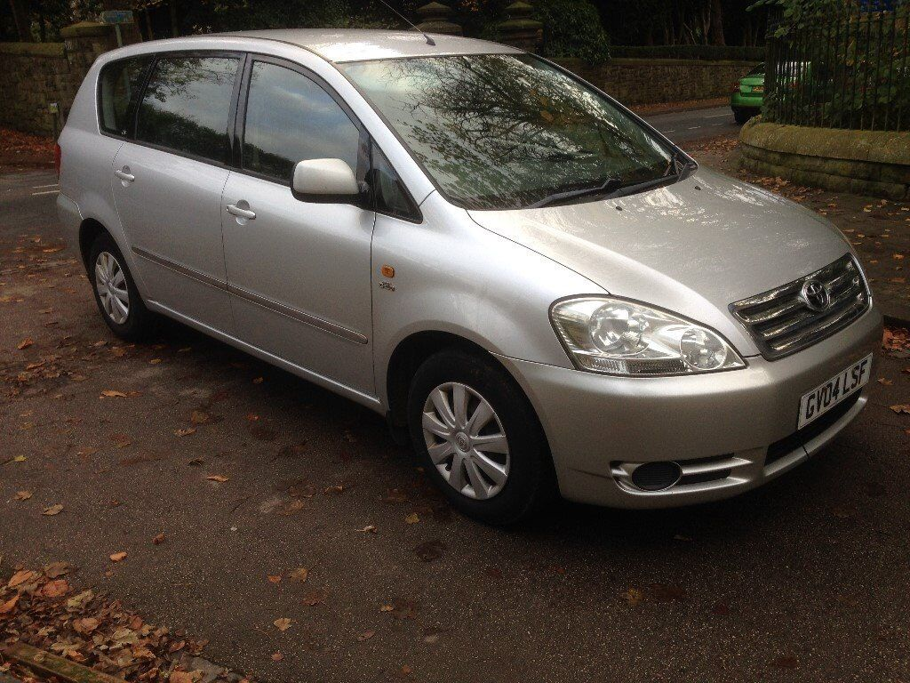 2004 toyota avensis verso 2 0 d4d 7 seater full service. Black Bedroom Furniture Sets. Home Design Ideas