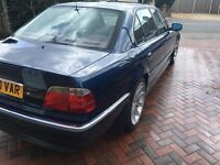 Bmwe38 728 good condition for age