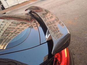 FOR CARBON FIBER AUDI 2007-2013 TT 8J TTS RS STYLE REAR WING TRUNK SPOILER