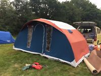 Super condition, 4 berth family, CABANON 'latitude' FRAME TENT - very well made