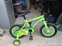 Kids boys Apollo bike 2-3
