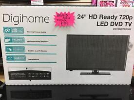 Brand new TV/DVD combi