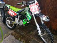 Kx 100 not yz rm cr ktm pit bike