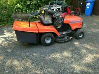Husqanvra ride on lawnmower
