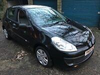 Renault Clio Expression 1149cc Petrol 5 speed manual 5 door hatchback 06 plate 12/04/2006 Black