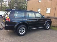 low mileage shogun sport for sale or swap for bmw 3 series coupe/ convertible only