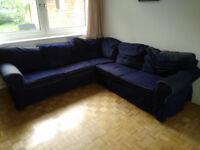 5-seater corner sofa