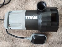 Water Pump and Delivery Hose - Used for around 2 hours - only clean water pumped RRP £75