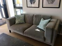 IKEA Nockeby 3 seater sofa like new