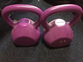 2x3.6kg weights at 10£, original price 20£